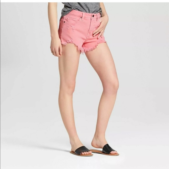 Mossimo Supply Co. Pants - 2 for $20 Mossimo supply co NWT pink denim shorts